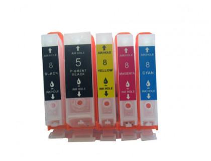 Перезаправляемые картриджи (ПЗК) для Canon PIXMA iP4200, iP4500, iP5200, iP4300, MP610, MP600, MP500, iP5300, MP800, MP810, MP530, MP830, MX850 IST