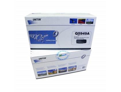 Картридж Q5949A Hewlett Packard (HP) Black (черный) (2500 копий) UNITON Premium