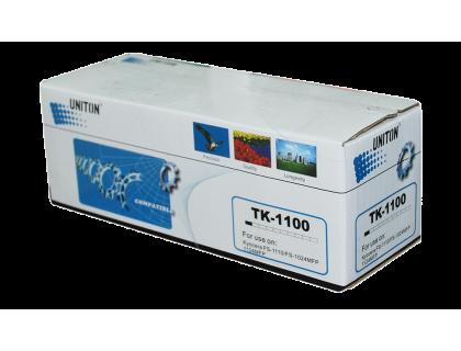 Картридж TK-1100 Kyocera-Mita Black (черный) (2500 копий) UNITON Eco