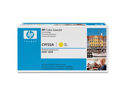 Картридж C9732A (восстановленный) Hewlett Packard (HP) Yellow (желтый) (12000 копий) UNITON Eco