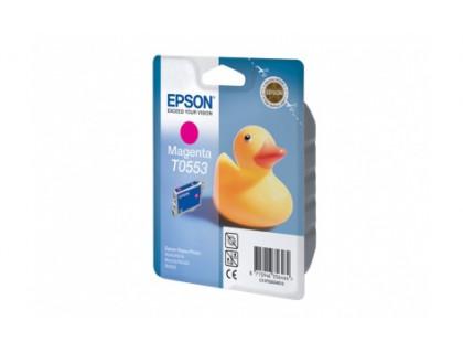 Картридж EPSON T0553 пурпурный InkTec