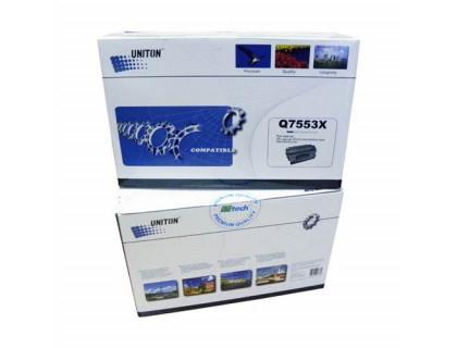 Картридж Q7553X Hewlett Packard (HP) Black (черный) (7000 копий) UNITON Eco