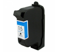 Картридж ( 15) HP DJ 810C/840С/940 C6615DE ч 40ml Unijet