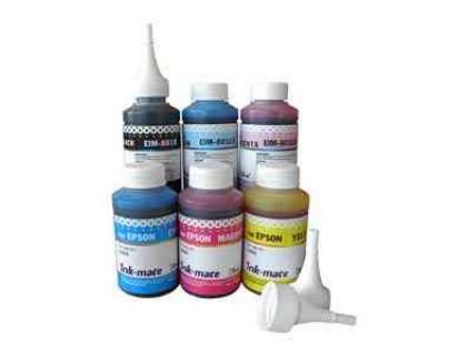 Чернила для EPSON (T6734/T1704) L800/ Expression Home XP-103/203/406 (70мл, yellow, Dye) EIM-801Y Ink-Mate