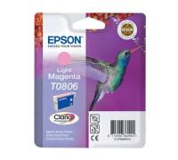 Картридж EPSON T0806 светло-пурпурный InkTec