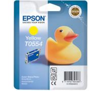 Картридж (T0554) EPSON St Photo R240/RX520 желт InkTec