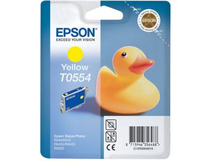 Картридж EPSON T0554 желтый InkTec