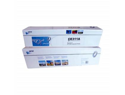 Картридж CE311A Hewlett Packard (HP) Cyan (голубой) (1000 копий) UNITON Premium
