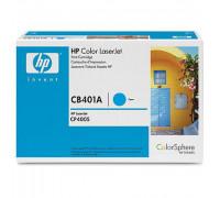 Картридж HP Color LJ CP 4005  CB401A (восстановленный) син (7,5K) UNITON Premium