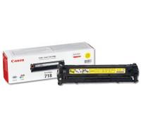 Картридж CANON LBP-7200 Cartridge 718Y желт (2,8K) UNITON Premium