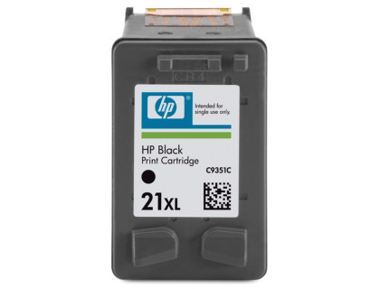 Картридж HP № 21XL черный UNIJET