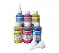 Чернила для HP Officejet Pro x451dn, x551dw, x476dn, x576dw (100мл,Cyan, Dye) HIM-971C Ink-Mate