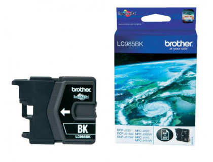 Картридж Brother DCP-125/315W/515W/MFC-265W/410/415W (LC39/985BK) ч InkTec