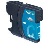 Картридж BROTHER LC1100C голубой InkTec
