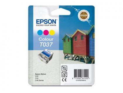 Картридж (T037) EPSON St C42/C42UX цв InkTec