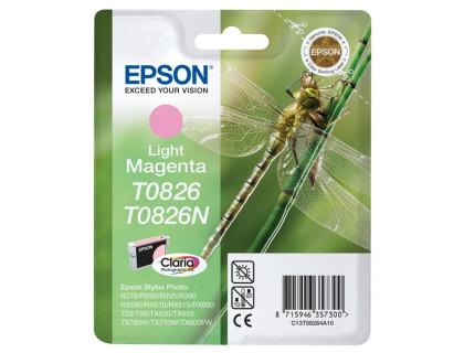 Картридж EPSON T0826N светло-пурпурный InkTec