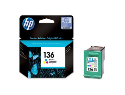 Картридж HP № 136 цветной UNIJET