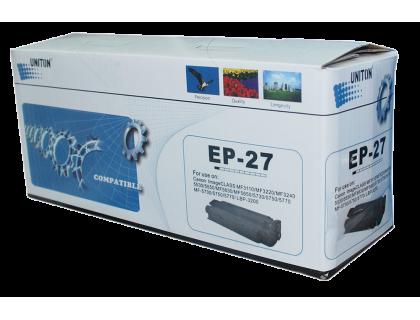 Картридж EP-27 Canon Black (черный) (2500 копий) UNITON Eco