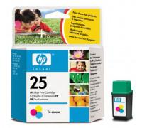 Картридж ( 25) HP DJ 5XX 51625А 19,5ml цв Unijet