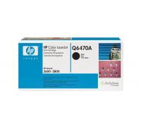 Картридж HP Color LJ 3600 /3800/CP3505 Q6470A (501A) (восстановленный) ч (6K) UNITON Premium