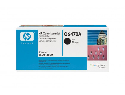 Картридж Q6470A Hewlett Packard (HP) Black (черный) (6000 копий) UNITON Premium