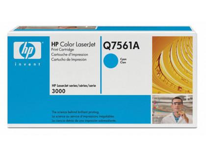 Картридж Q7561A Hewlett Packard (HP) Cyan (голубой) (3500 копий) compatible