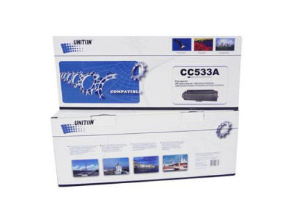 Картридж CC533A Hewlett Packard (HP) Magenta (пурпурный) (2800 копий) UNITON Premium