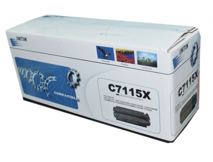 Картридж C7115X Hewlett Packard (HP) Black (черный) (3500 копий) UNITON Eco