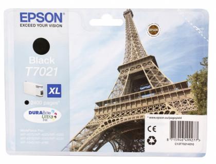 Картридж EPSON T7021 черный Китай