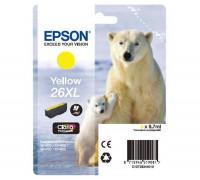 Картридж (T2634) Epson Expression Premium XP-600/XP-605/XP-700/XP-800 желт Unijet