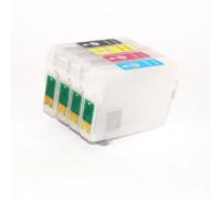 Перезаправляемые картриджи (ПЗК) для EPSON (T0921-0924) C91, CX4300, T27, TX106, TX109, TX117, TX119 (T0921, T0922, T0923, T0924), 4 шт, с чипами IST