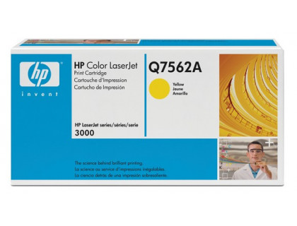 Картридж Q7562A Hewlett Packard (HP) Yellow (желтый) (3500 копий) compatible
