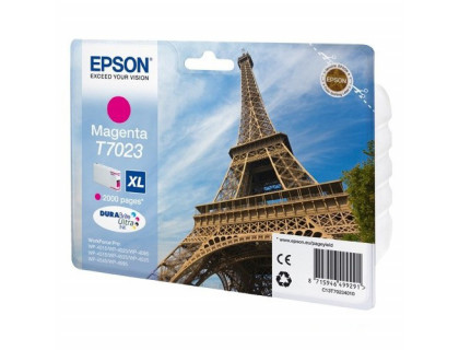 Картридж EPSON T7023 пурпурный Китай