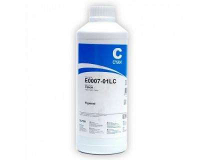Чернила для EPSON (Т0632/0732) St C67/79/CX3700/3900 (1л,cyan,Pigment) E0007-01LC InkTec