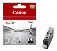 Картридж CANON CLI-521BK черный InkTec