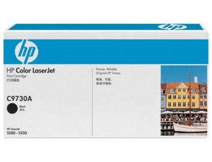 Картридж C9730A Hewlett Packard (HP) Black (черный) (13000 копий) UNITON Eco